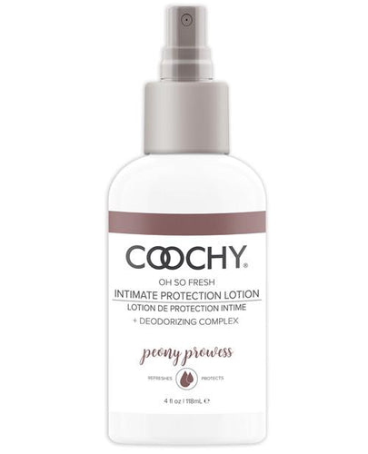 Coochy Intimate Protection Lotion - 4 Oz Peony Prowess - Omega Pleasure