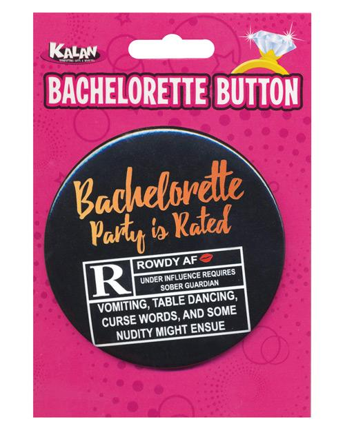 Bachelorette Button - Bachelorette Party Is Rated R - Omega Pleasure