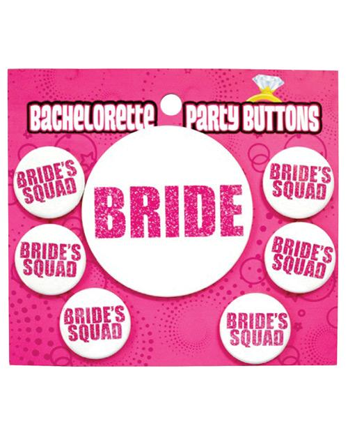 Bachelorette Party Button - Bride-bride's Squad - Omega Pleasure