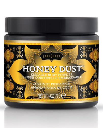 Kama Sutra Honey Dust - 6 Oz Coconut Pineapple - Omega Pleasure
