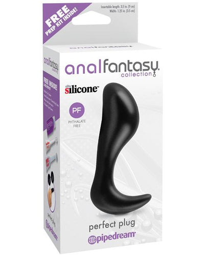 Anal Fantasy Collection Perfect Plug - Black - Omega Pleasure