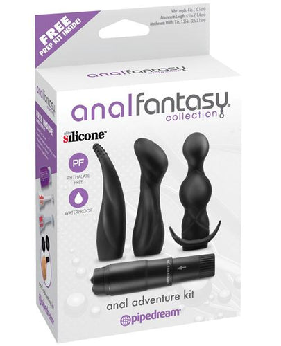 Anal Fantasy Collection Anal Adventure Kit - Black - Omega Pleasure