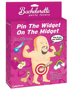 Bachelorette Party Favors Pin The Widget On The Midget - Omega Pleasure