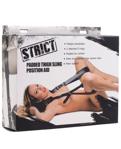 Strict Padded Thigh Sling Position Aid - Omega Pleasure
