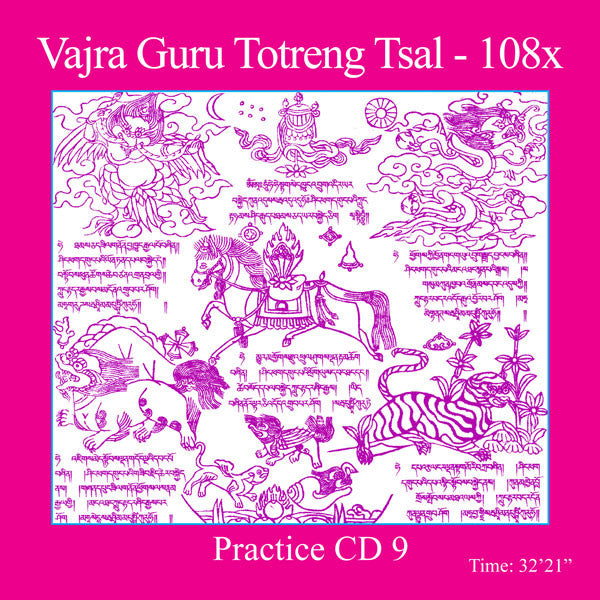 Mantra Practice CD 9 - Totreng Tsal - Dharma Publishing