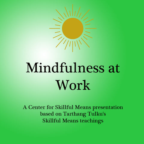 Mindfulness at Work - Dharma Publishing