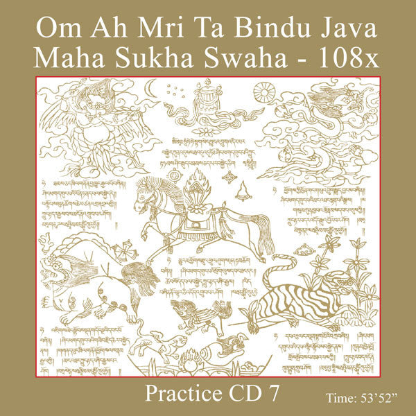Mantra Practice CD 7 - Om Ah Mri Ta - Dharma Publishing