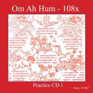 Mantra Practice CD 1 - Om Ah Hum - Dharma Publishing