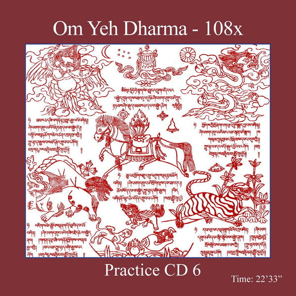 Mantra Practice CD 6 - Om Yeh Dharma - Dharma Publishing