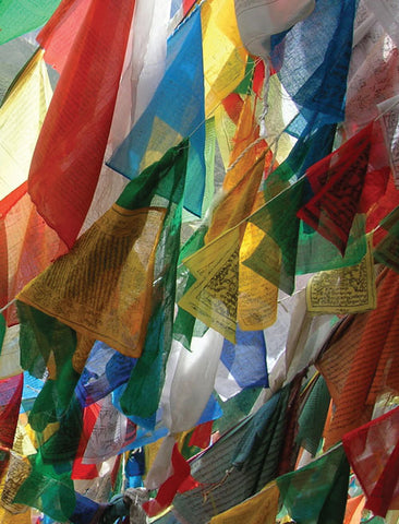 Prayer Flag Notebook - Dharma Publishing