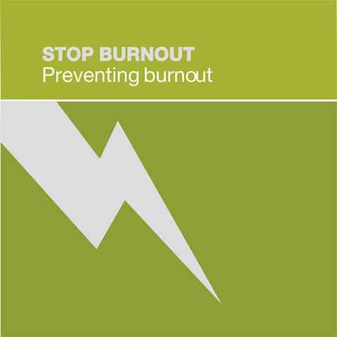 Stop Burnout CD 2: Understanding Burnout - Dharma Publishing
