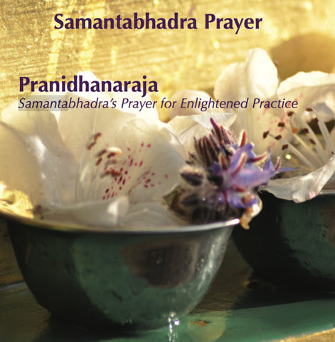 Mantras from Ratna Ling: Volume V - Pranidhanaraja or Samantabhadra's Prayer for Enlightened Practice - Dharma Publishing