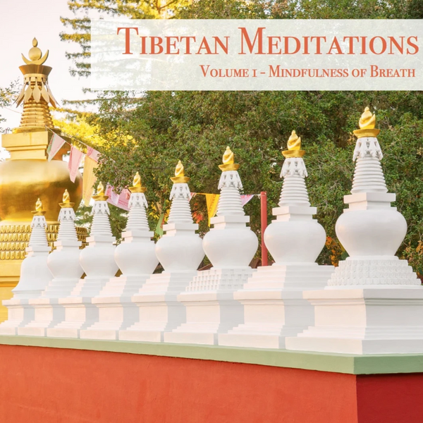 Tibetan Meditations Volume 1 - Mindfulness of Breath - Dharma Publishing