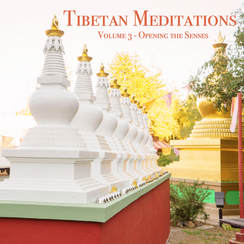 Tibetan Meditations Volume 3 - Opening the Senses - Dharma Publishing
