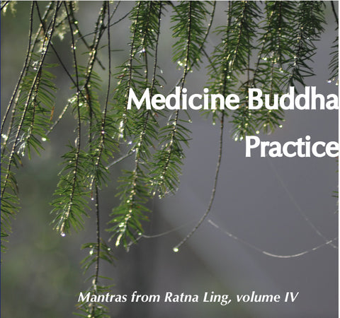 Mantras from Ratna Ling: Volume IV - Medicine Buddha Practice - Dharma Publishing