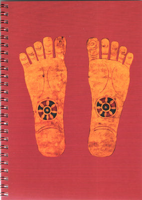 Footprints of The Buddha - Notebook - Dharma Publishing