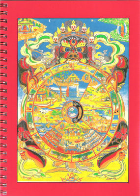The Wheel of Life - Notebook - Dharma Publishing