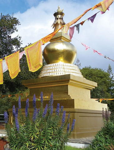 Ratna Ling Longevity Stupa Notebook