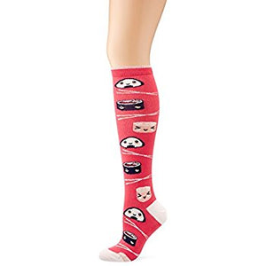 Calcetines Shushi Knee High - White Gorilla Co