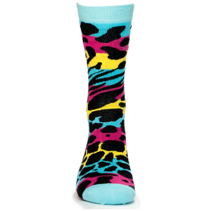 Calcetines Azul Animales - White Gorilla Co