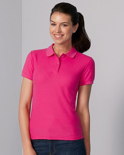 73800L Gildan® Easy Care™  Ladies' Double Piqué Sport Shirt