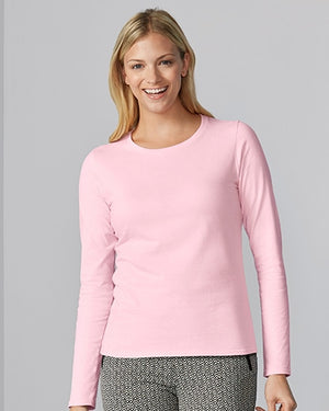 76400L Gildan® Premium Cotton™  Ladies' Long Sleeve T-Shirt