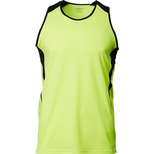 CRV1600  FLEX ATHLETIC RUNNING VEST TEE
