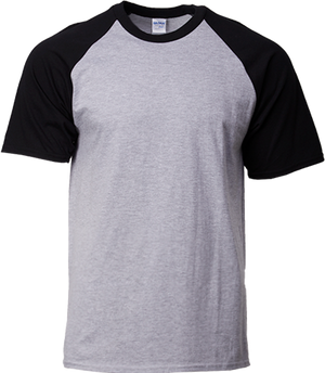 76500 Gildan® Premium Cotton™  Adult Raglan T-Shirt