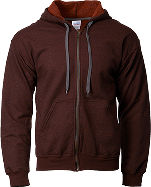 18700 Gildan® Heavy Blend™  Adult Vintage Full Zip Hooded Sweatshirt