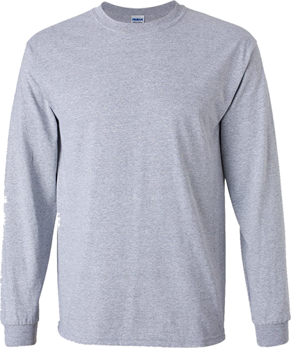 2400 Gildan® Ultra Cotton®  Adult Long Sleeve T-Shirt