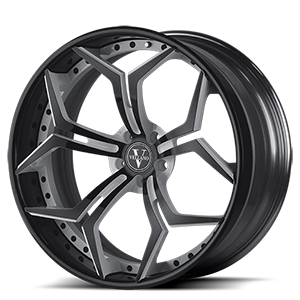 VCX Standard  / White with Black Trim   5 Lug