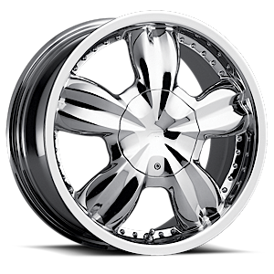 283-284 Jewel  / Chrome   5 Lug