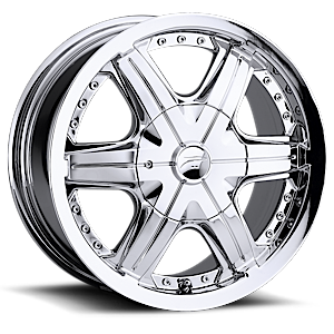 296-297 Flair  / Chrome   5 Lug