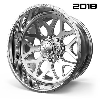 CK08 Sprint CC  / Polished   8 Lug