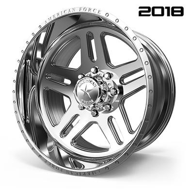 CK09 Vision CC  / Polished   8 Lug