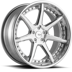 BM10-L  / Brushed and Polished   5 Lug