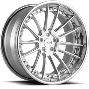 BM9-L  / Brushed and Polished   5 Lug