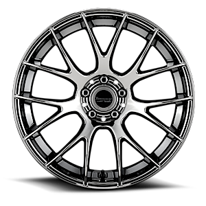 BR5  / Machined Black   5 Lug