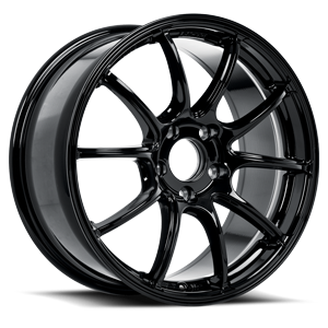 BV02  / Piano Black   5 Lug