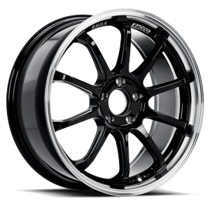 BV03  / Piano Black Machined   5 Lug