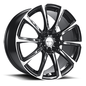 Blade  / Black Machined   5 Lug
