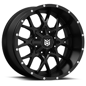 DS645  / Satin Black   5 Lug