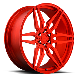 Attack 6 - XA40  / Hi Polish | Matte Candy Red   6 Lug