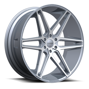 Dacono  / Silver Machined   6 Lug