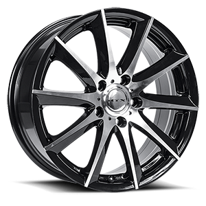 Dynamo  / Black Machined   5 Lug