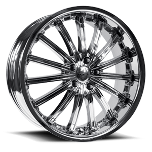 Elite  / PVD Chrome   5 Lug