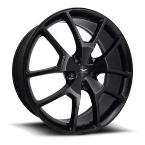 FDRA  / Satin Black   5 Lug