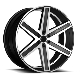 Dramuno 6  / Black & Machined   6 Lug