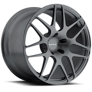 M100  / Metallic Graphite   5 Lug
