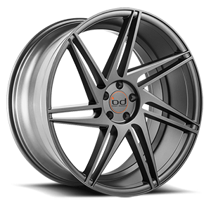 BD-1  / All Matte Graphite   5 Lug
